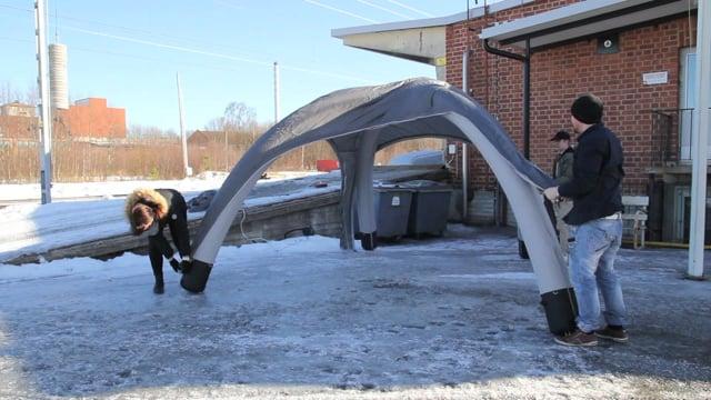 AERO Inflatable Budget Tent 3x3