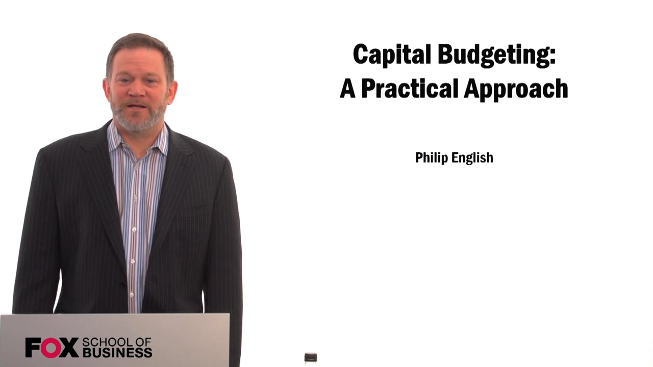 59576Capital Budgeting: A Practical Approach