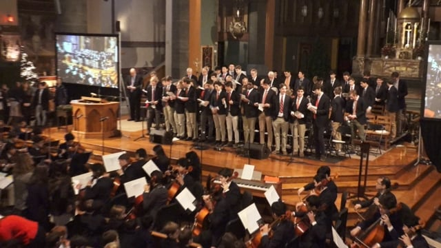 Collegiate School Christmas Show in The Church of St. Paul the Apostle - 12/16/16