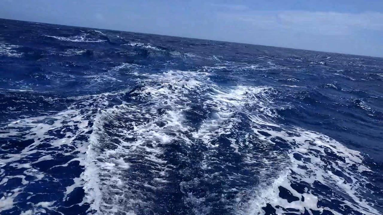 Sailing From Aruba to Curacao off Venezuela