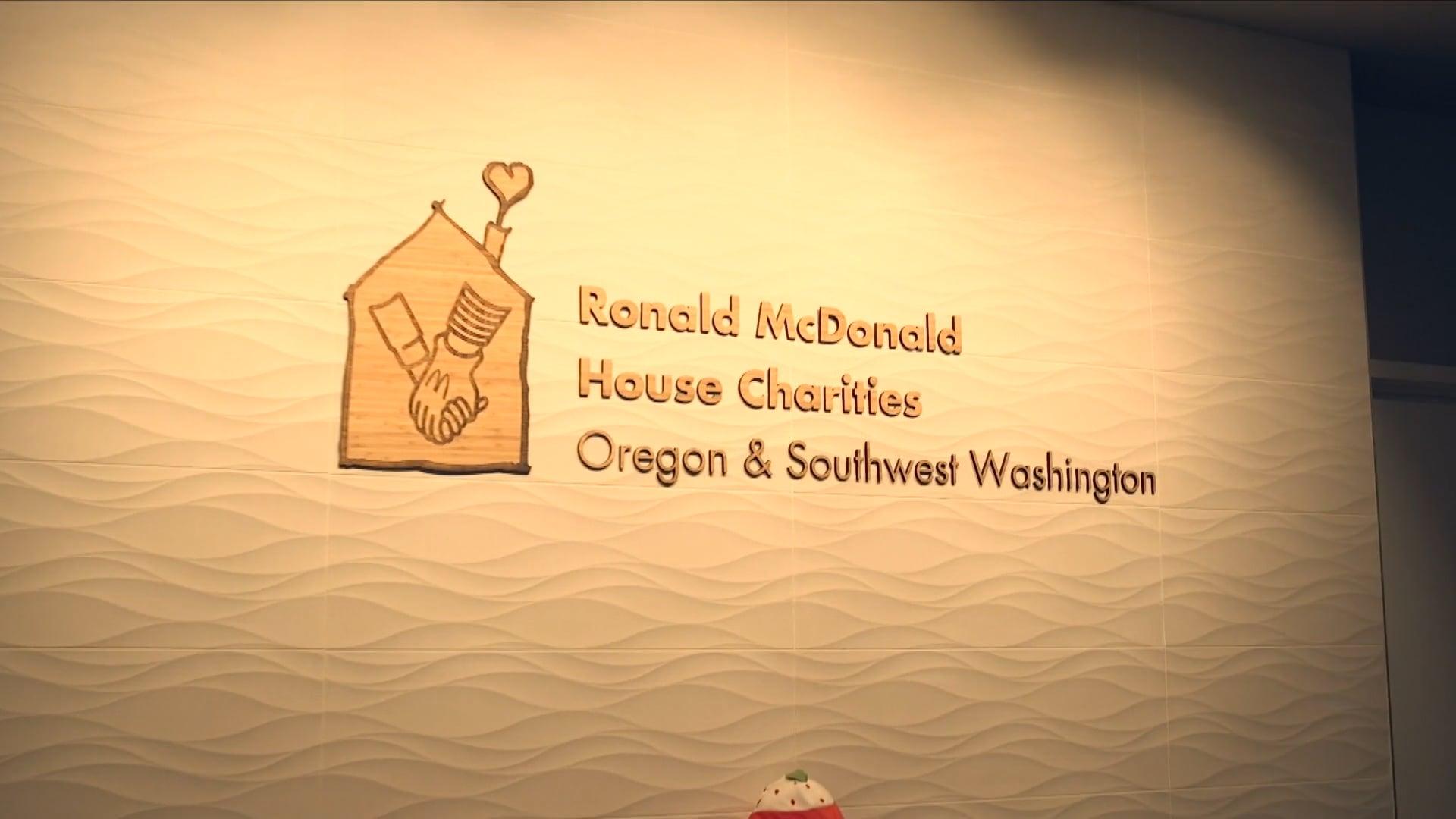Ronald McDonald House Portland Trailblazers McDonalds Shamrock Shake Promo, Ryan Ao Media Portland Production Company