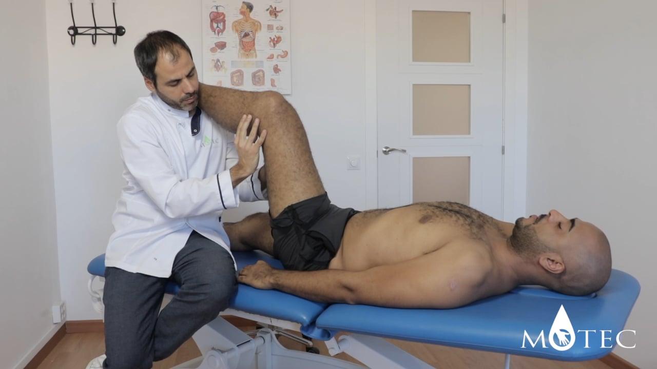 Osteopatía recorrido del nervio ciático