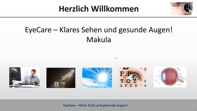 EyeCare und Makula