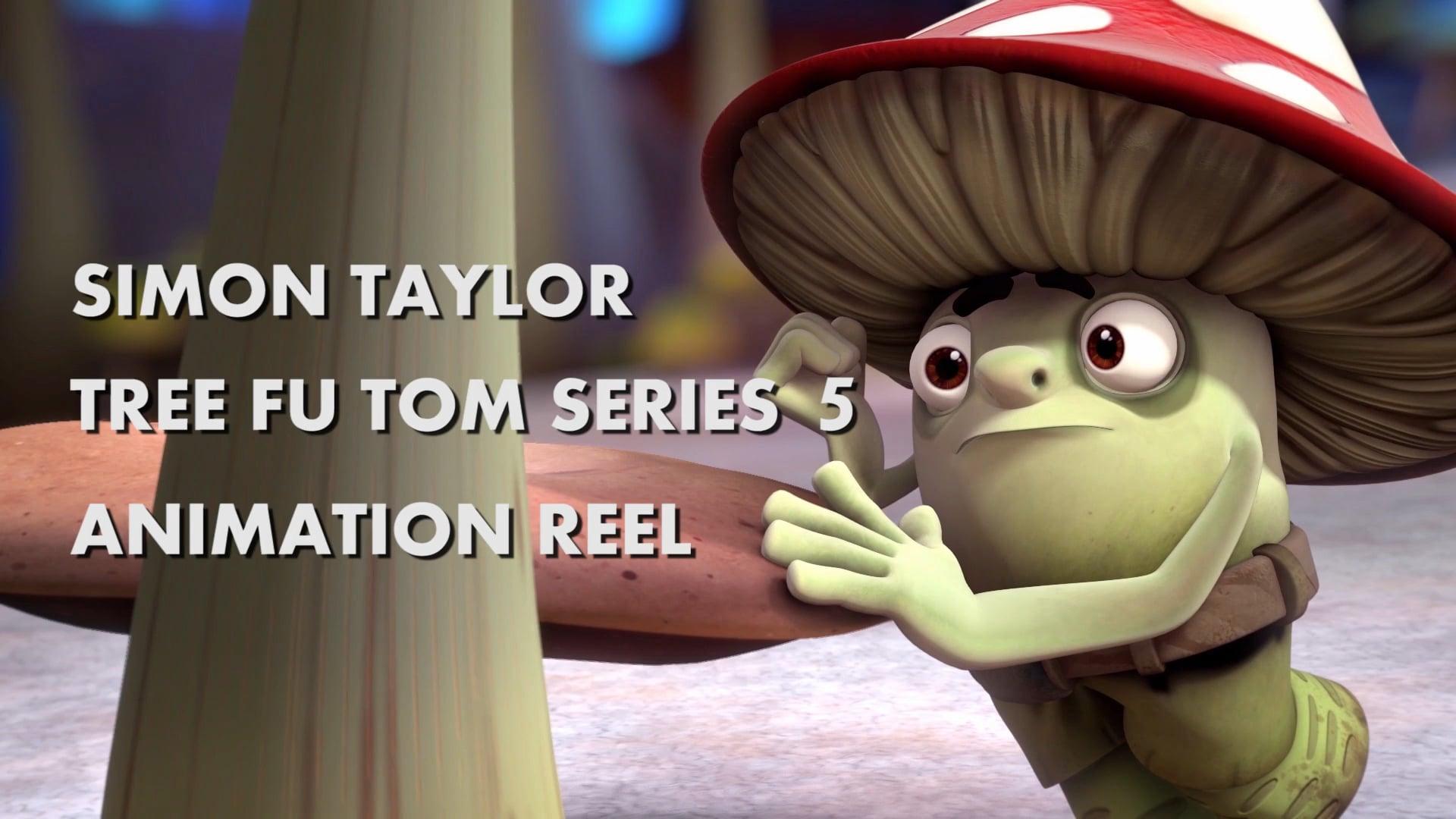 Tree Fu Tom Series 5 Animation Reel