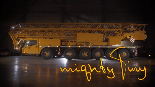 Mighty Tiny Logo  -  Spierings Mobile Cranes