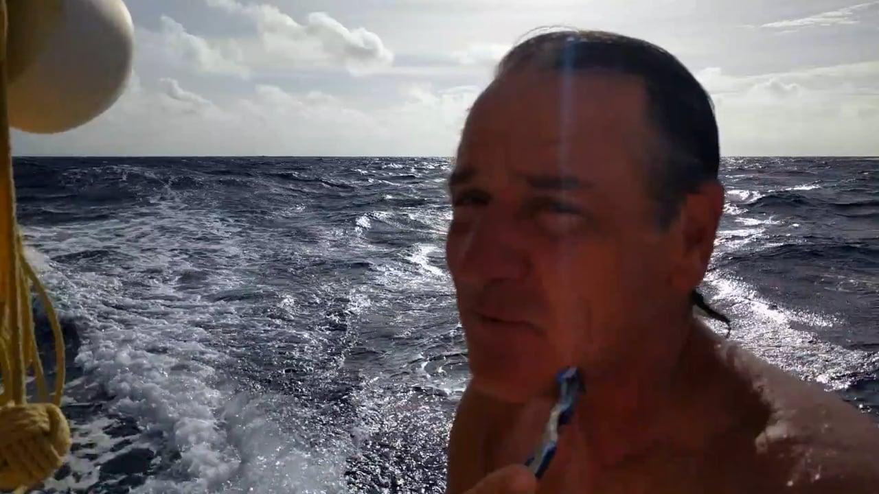 Catamaran Shaving