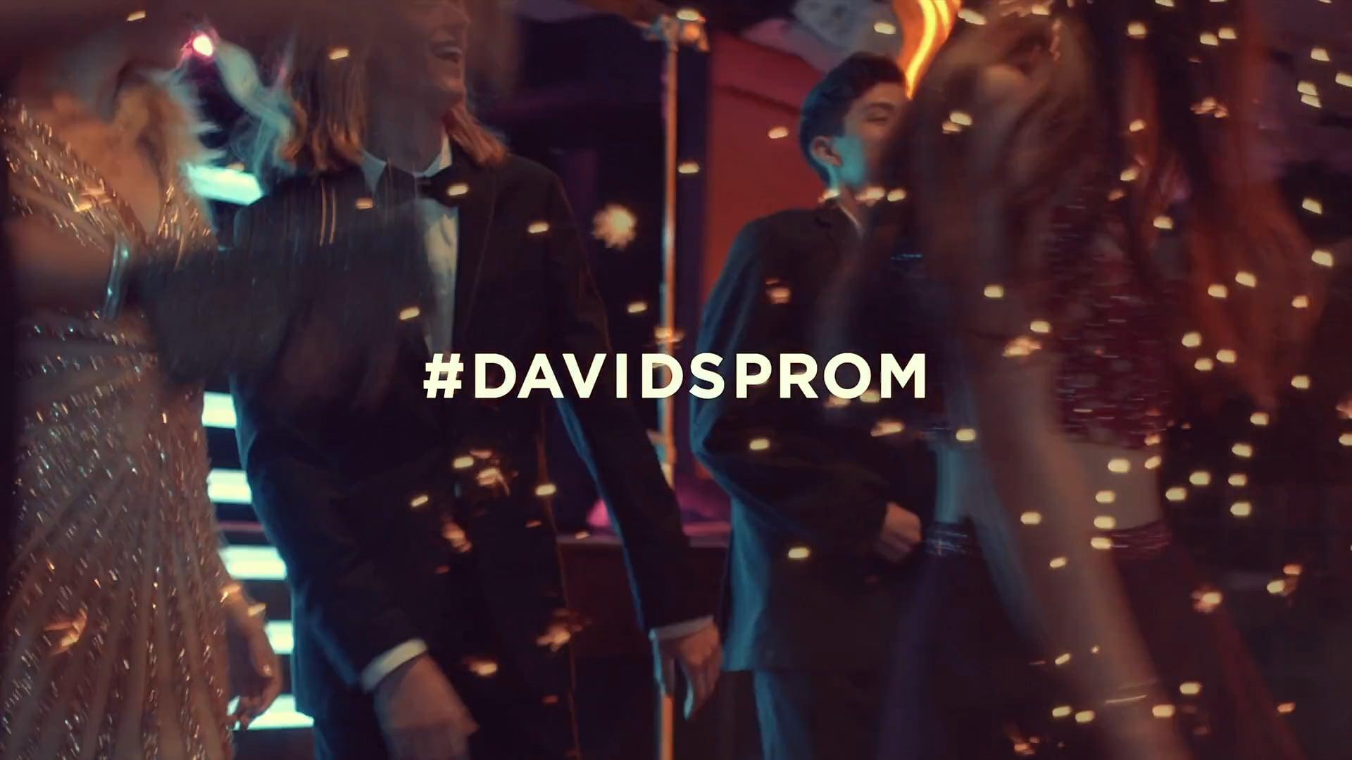 David's Bridal Prom Spring 2017
