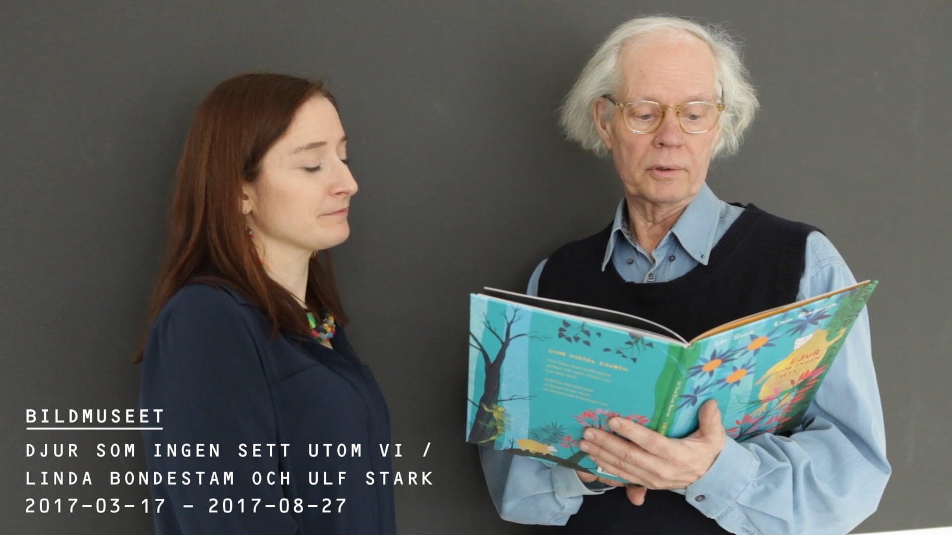 Film: Årets svenska bilderbok / Ulf Stark & Linda Bondestam