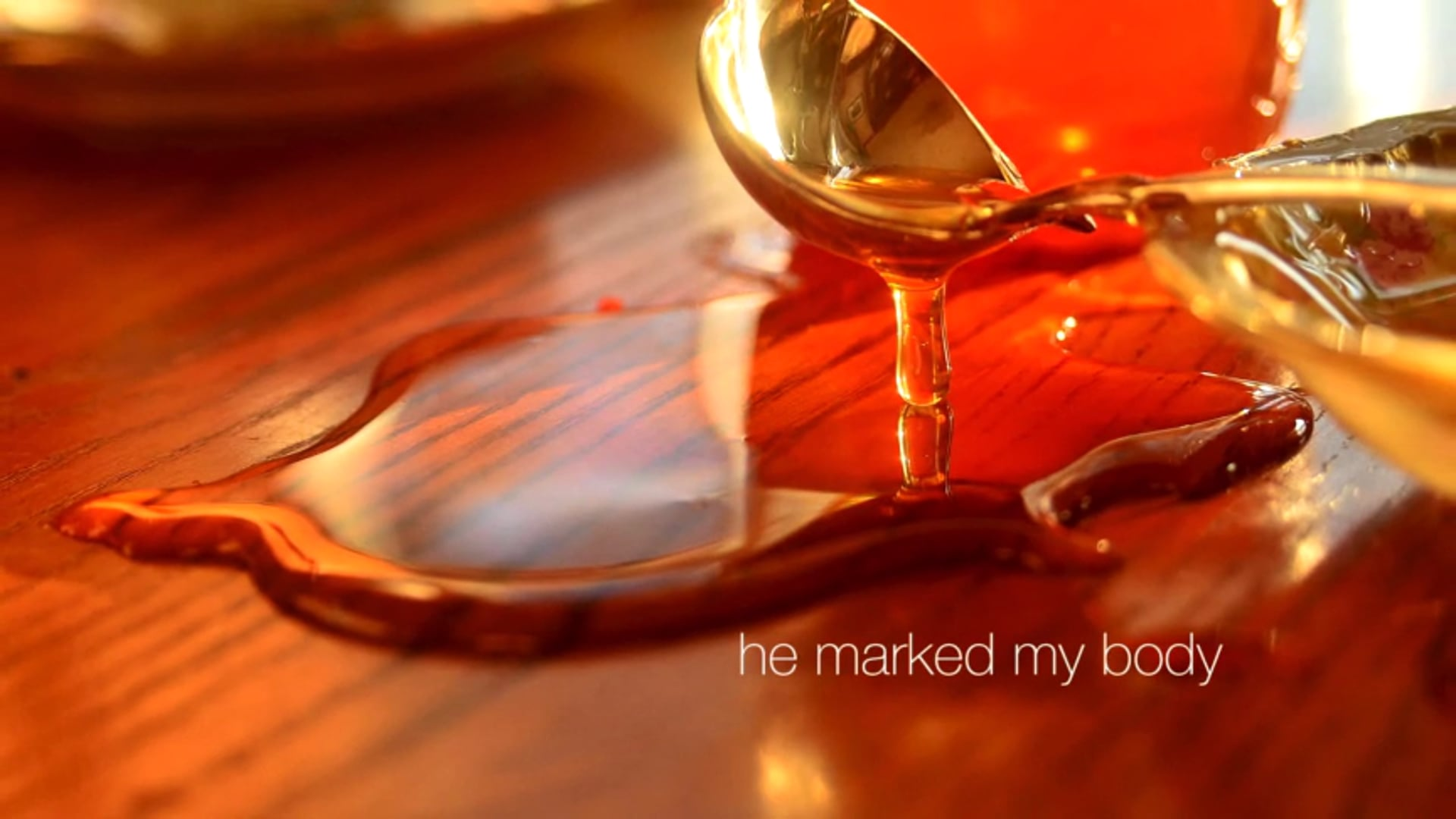 Poetry Video: He Marked My Body