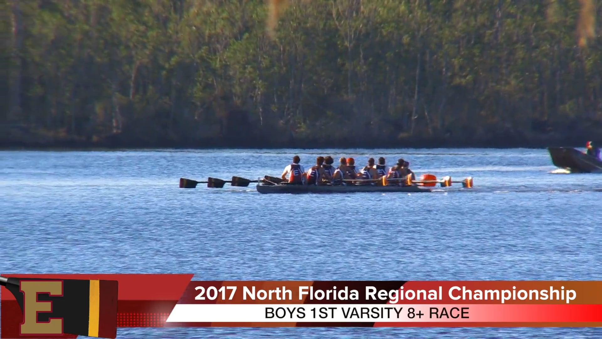 Boys 1V8+ Race 2017 FSRA North Florida Regional Championship