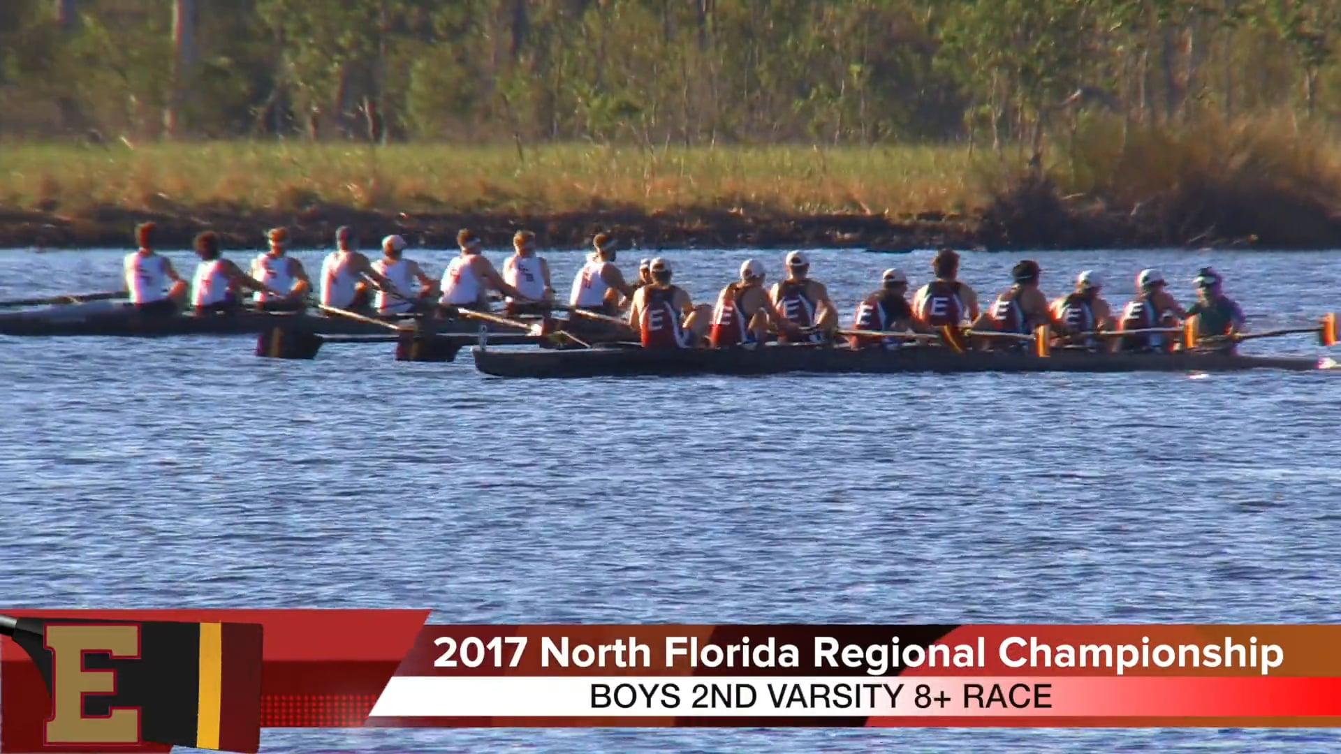 Boys 2V8+ Race 2017 FSRA North Florida Regional Championship