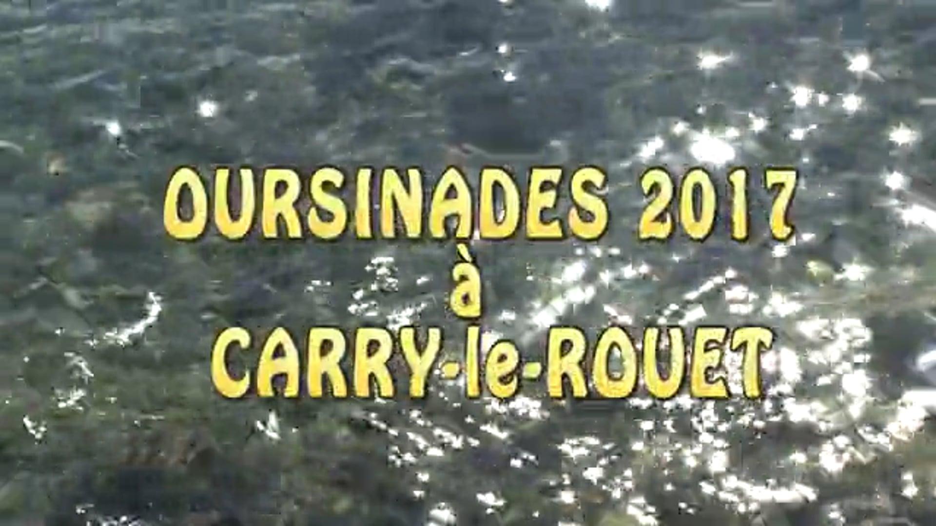 OURSINADES 2017 à  Carry-le-Rouet