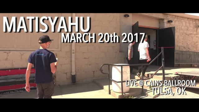 Matisyahu in Tulsa, OK 2017