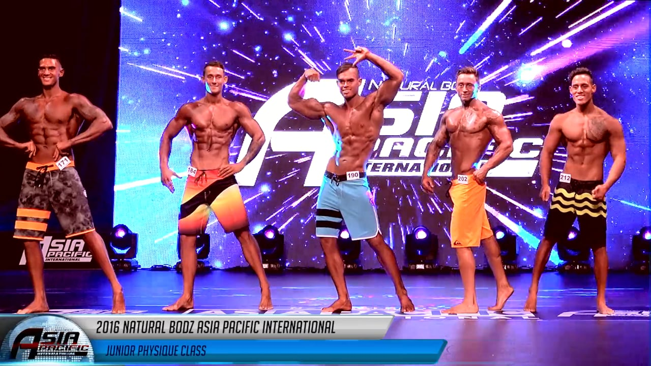 2016 Asia Pacific - Junior Physique Category