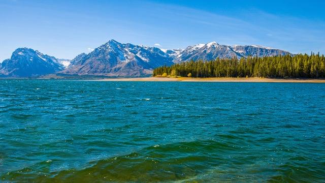 Jackson Lake, Wyoming. Part 1