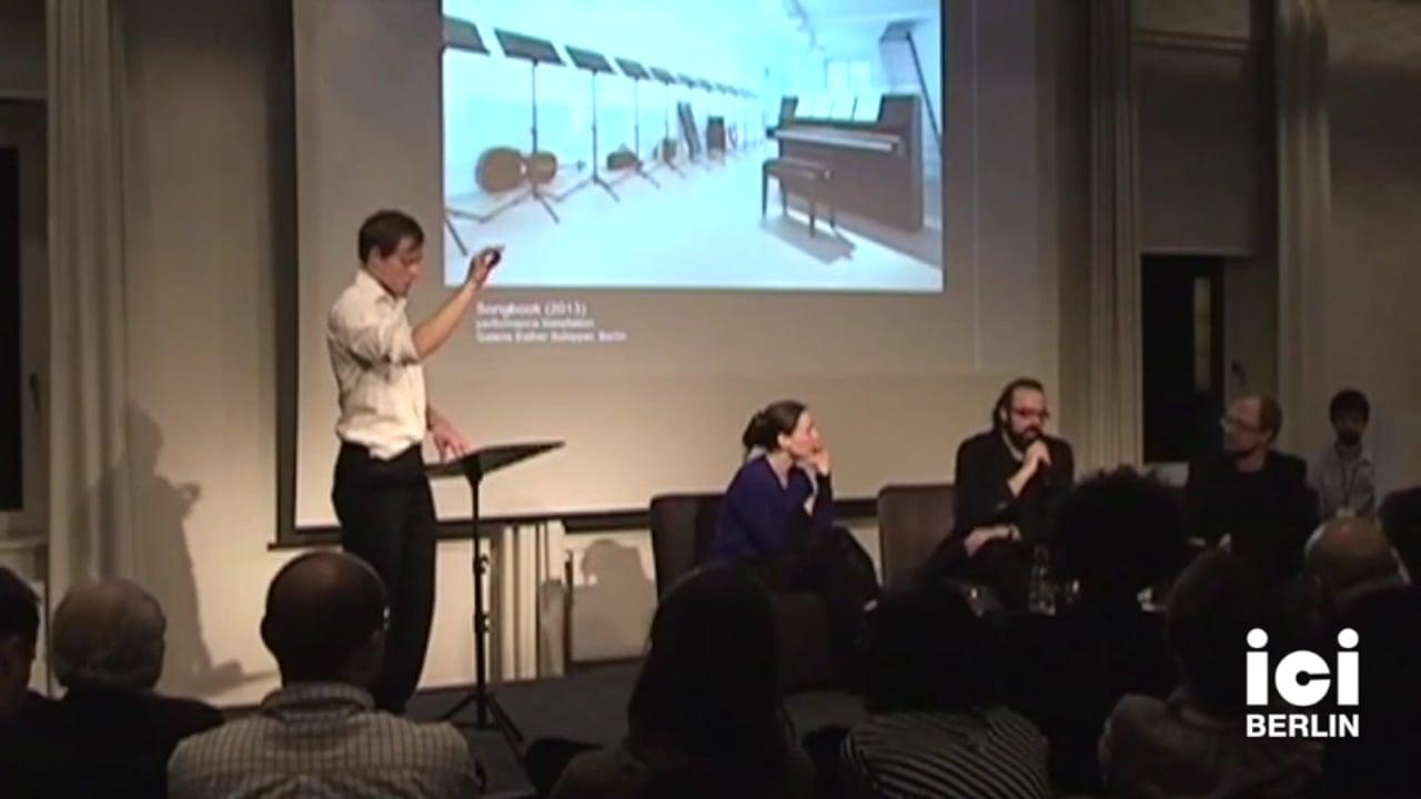 Artist Talk: Jörn Schafaff and Julia Schröder, Frank Willens performing, Part II