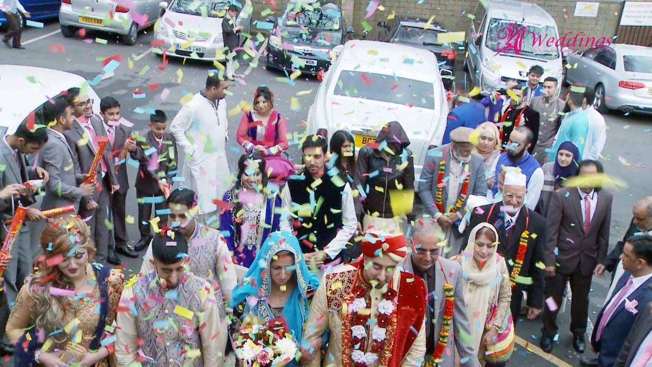 A1 Weddings ltd (Director's Cut) Mehwash & Usman