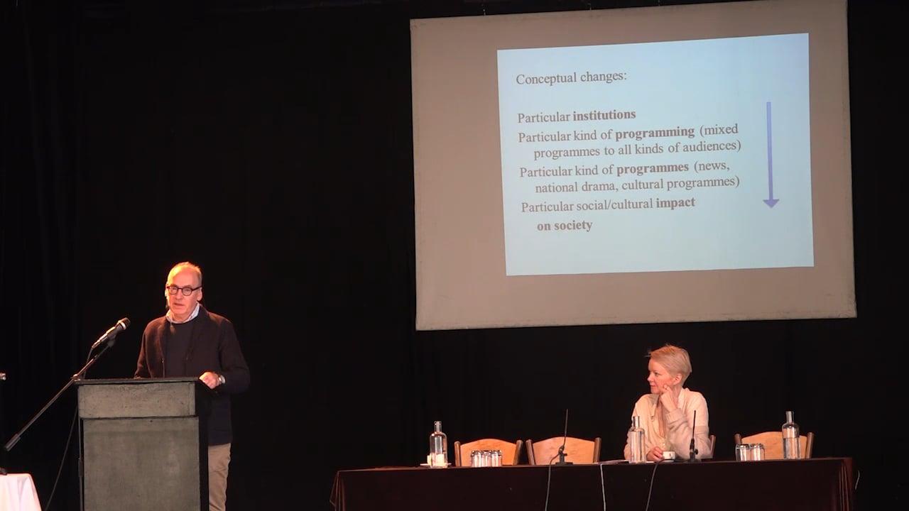 B. Dr. Henrik Søndergaard – Building Scenarios for Public Service Media in Denmark.