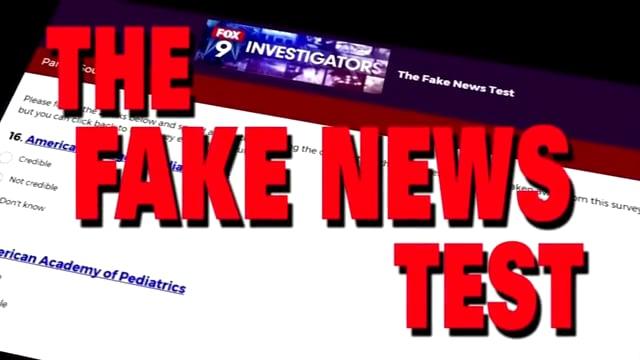 The Fake News Test