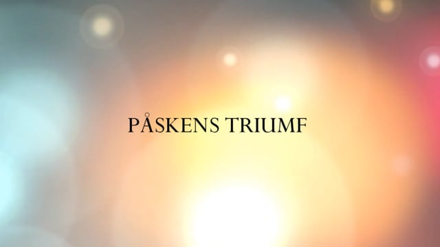 Påskens triumf