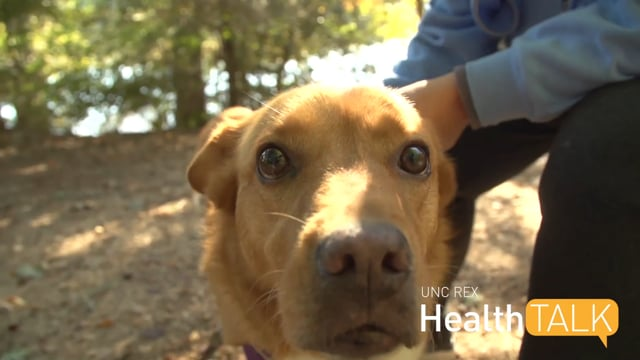 UNC REX Health Talk - Pets and Your Health