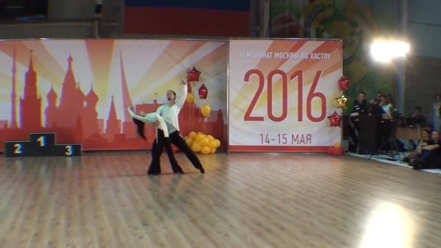 Чемпионат Москвы 2016, Архипов Алексей — Лазарева Мария, slow