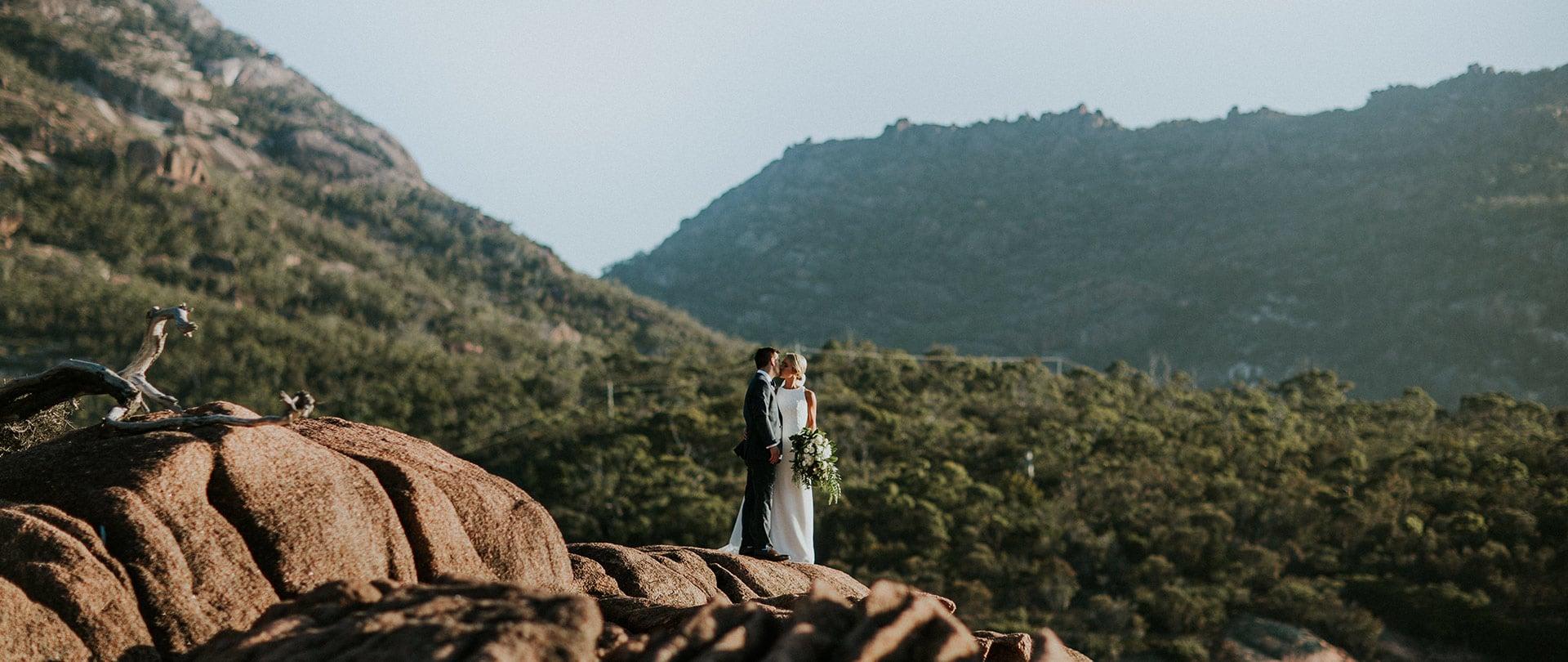 Laura & Ben Wedding Video Filmed at Tasmania, Australia