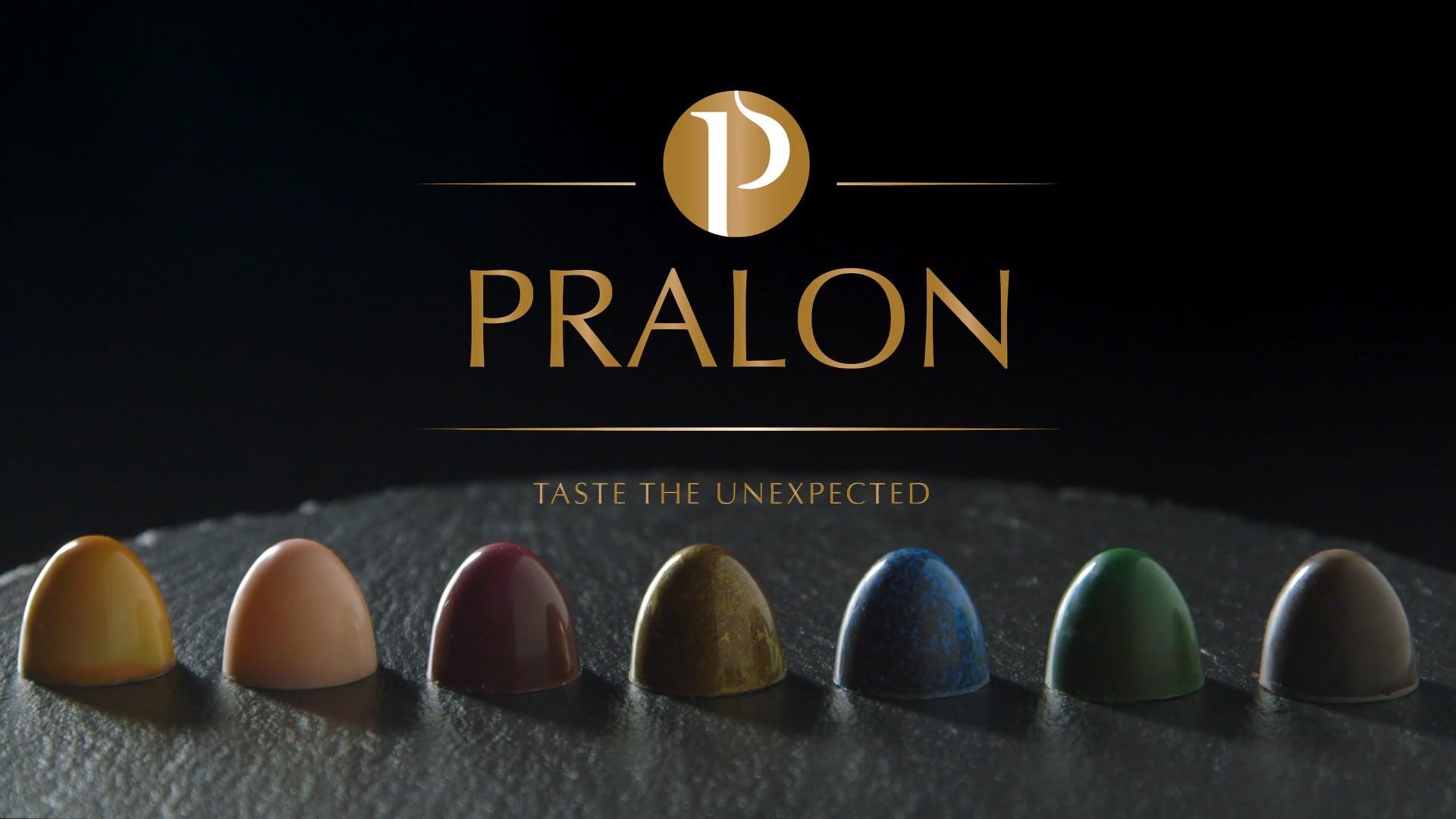 Pralon, chocolate commercial