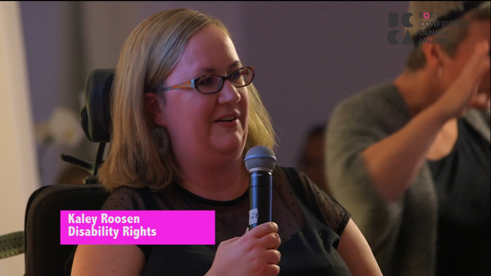 Disability Rights Recipient Kaley Roosen