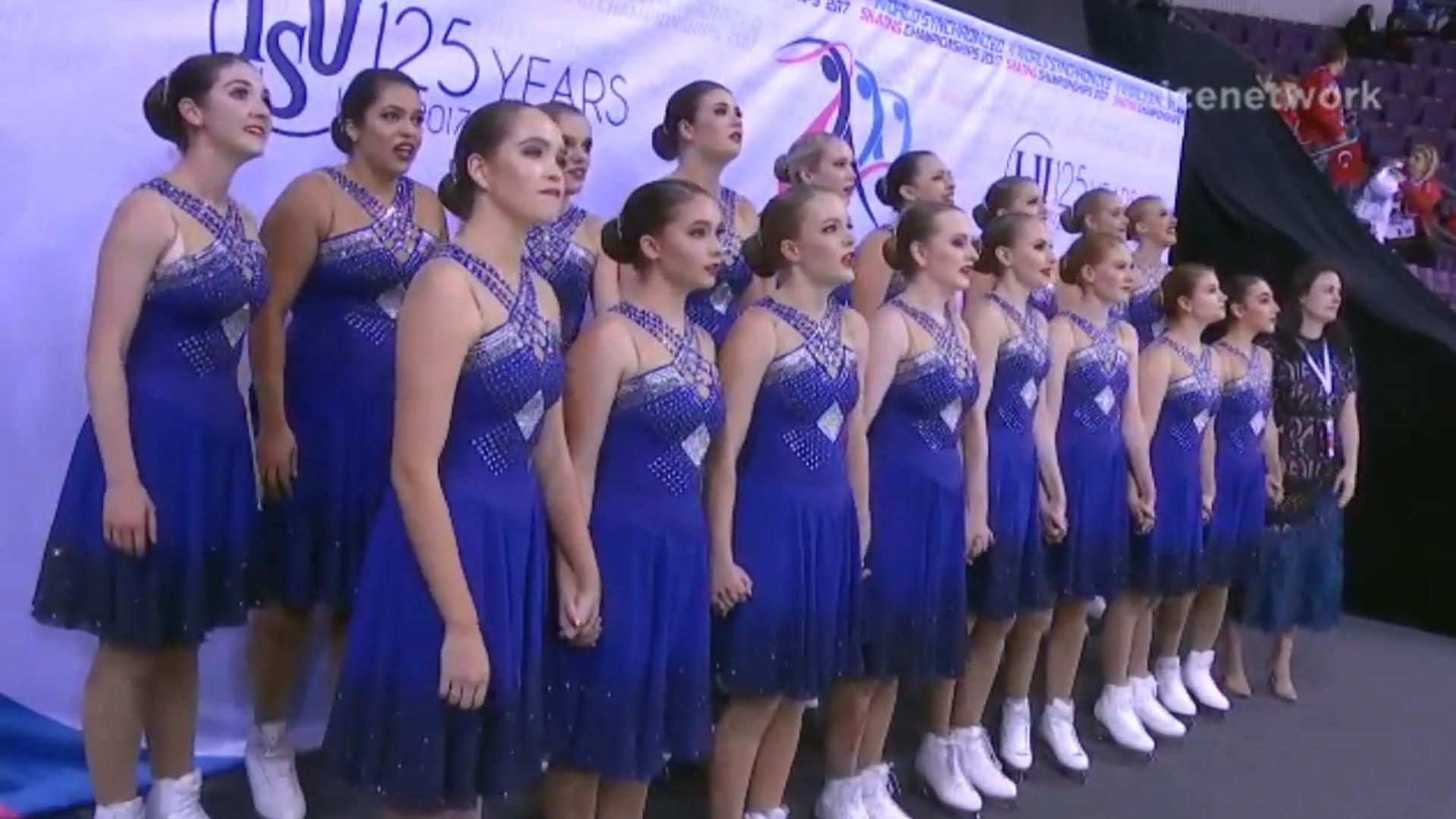 2 Team Australia Infusion FS 2017 World Synchronized Championships