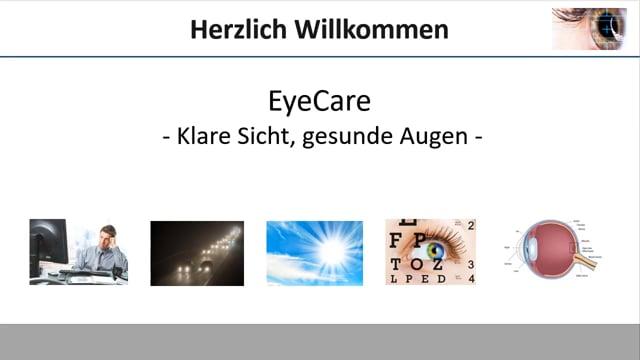 EyeCare - 7 Faktoren die unsere Augen belasten!