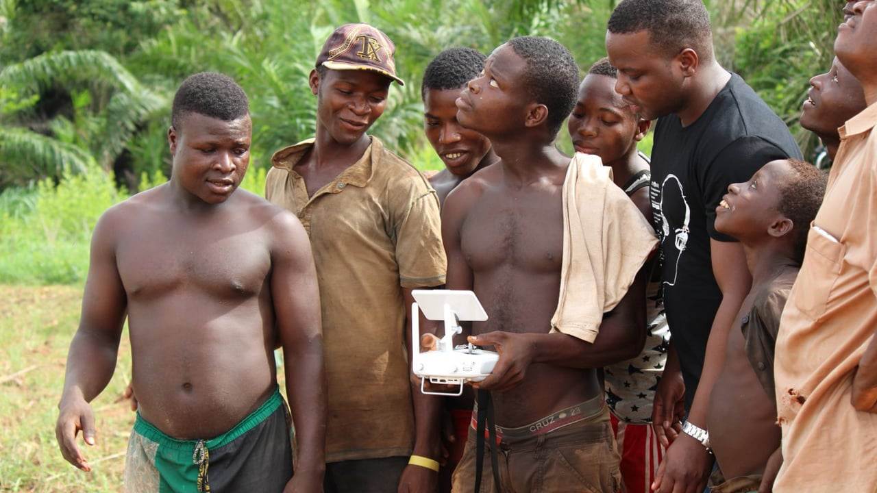 Drones for agriculture in Benin
