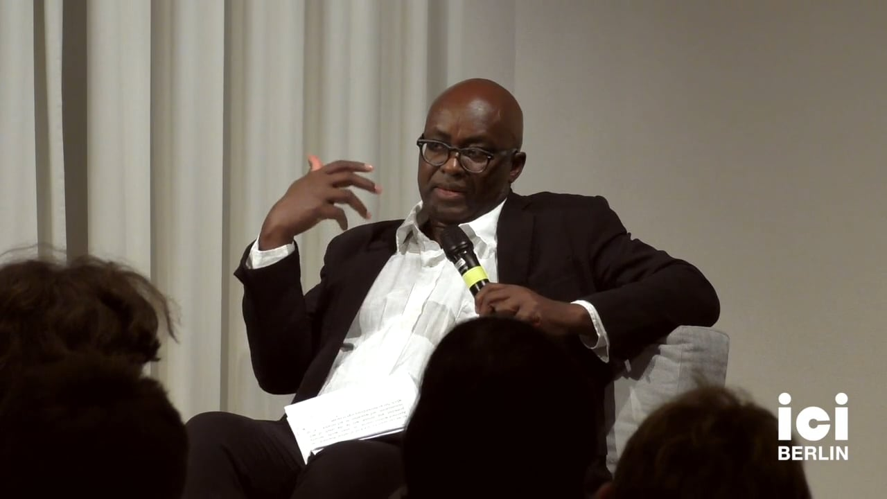 Discussion with Achille Mbembe and Sarah Nuttall (Part II)