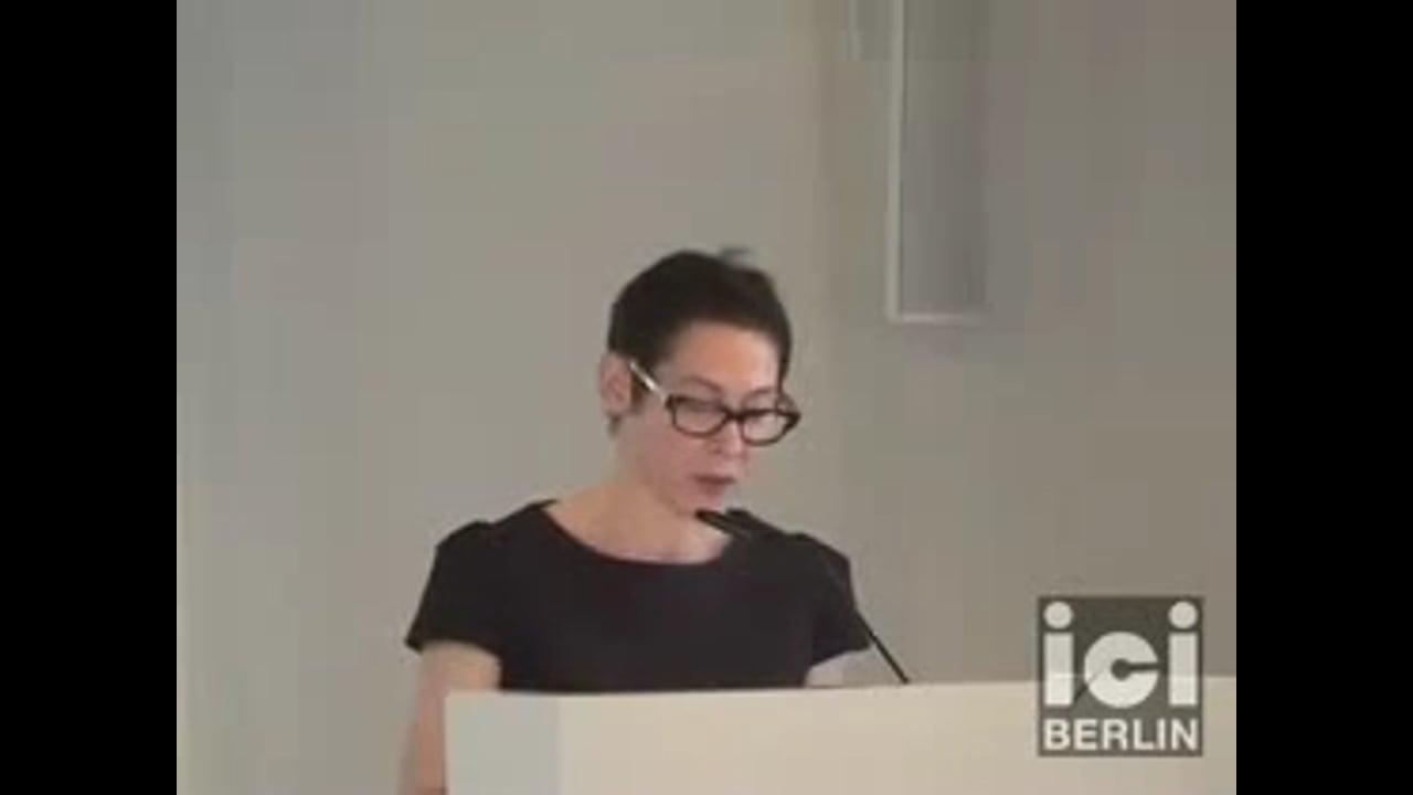 Talk by Penelope Lisa Deutscher (Part I)