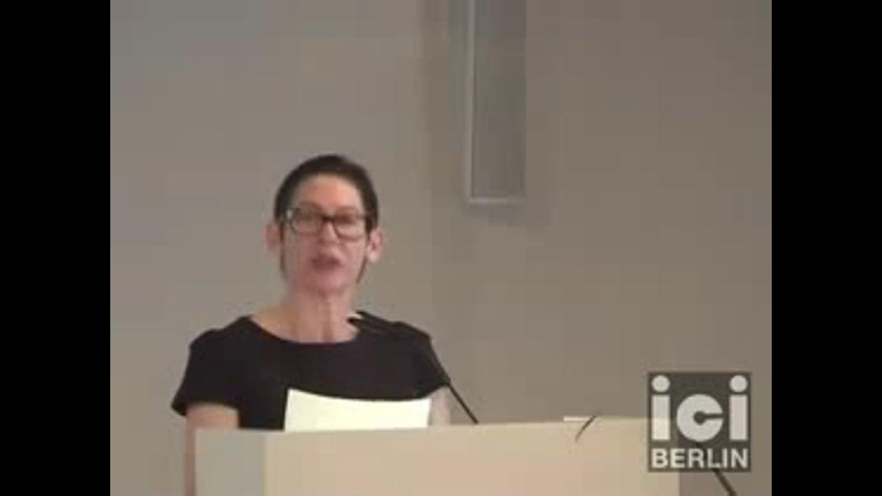 Talk by Penelope Lisa Deutscher (Part II)