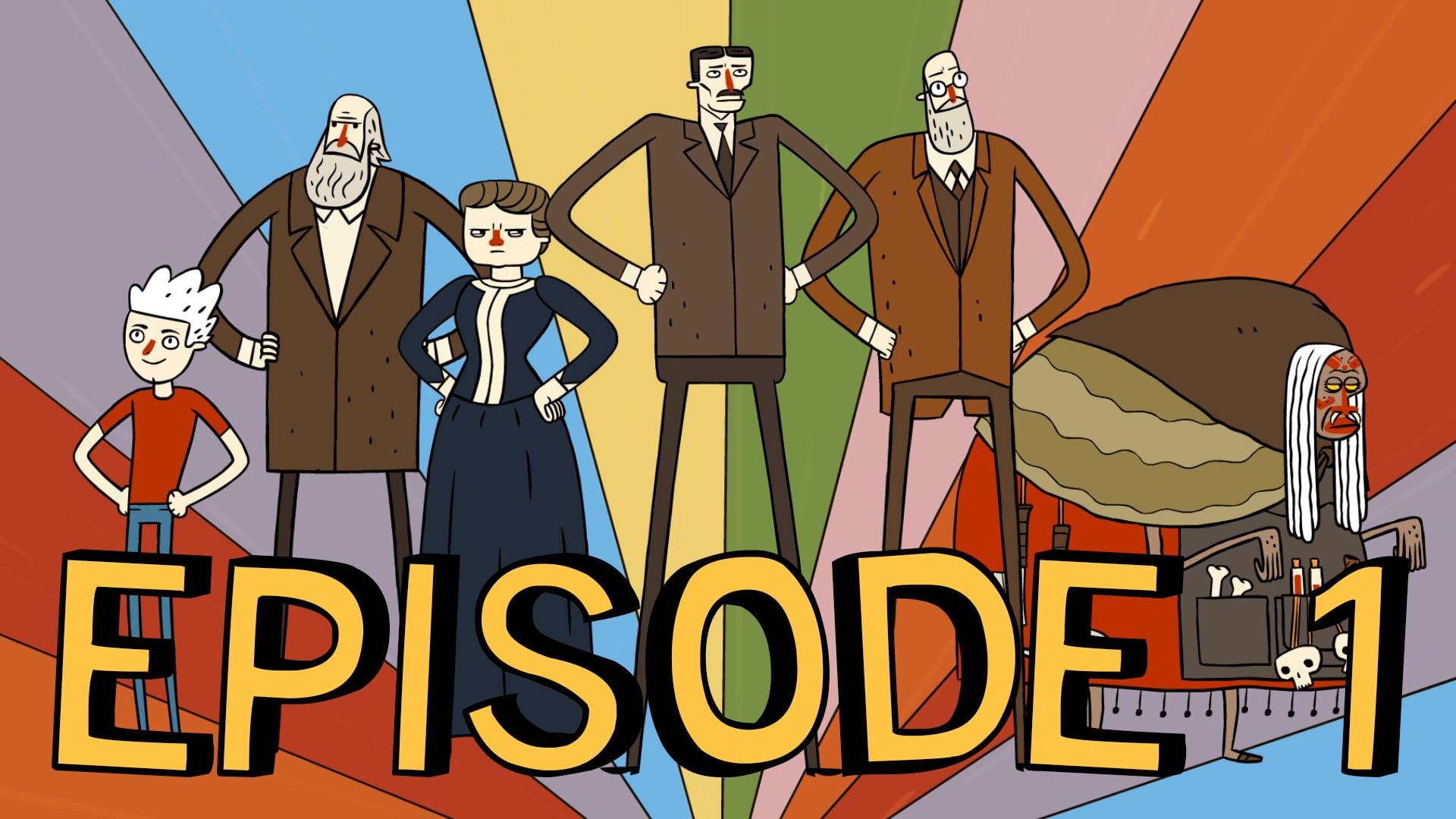 Super Science Friends - Episode 1: The Phantom Premise
