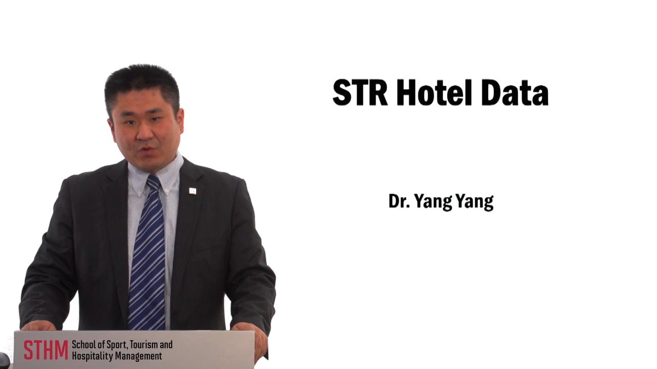 59720STR Hotel Data