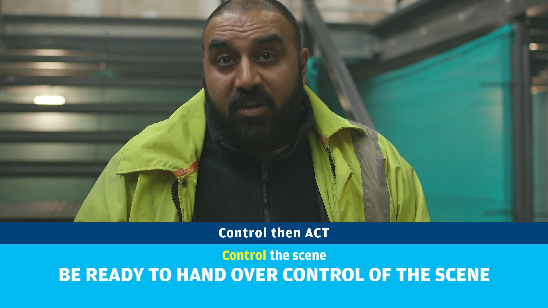 Public information film from citizenAID - Response to a bombing