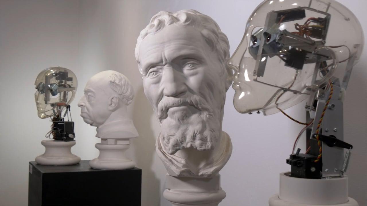 Ale Guzzetti - OBSERVING SCULPTURES -  2016 - From Interactivity to Robotics Art