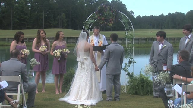 The Wedding of Brit & Alex at Carolina Colours