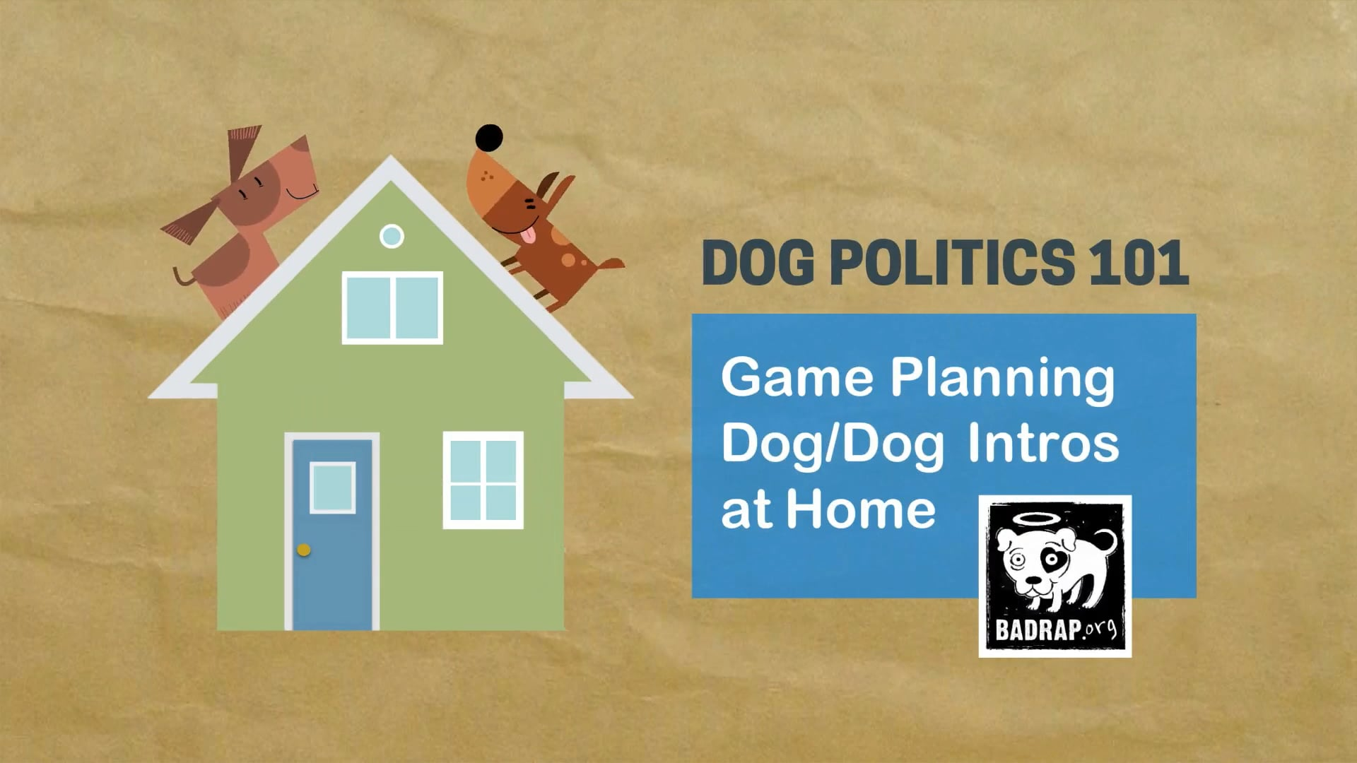 Dog/Dog Intros at Home - For the Win!