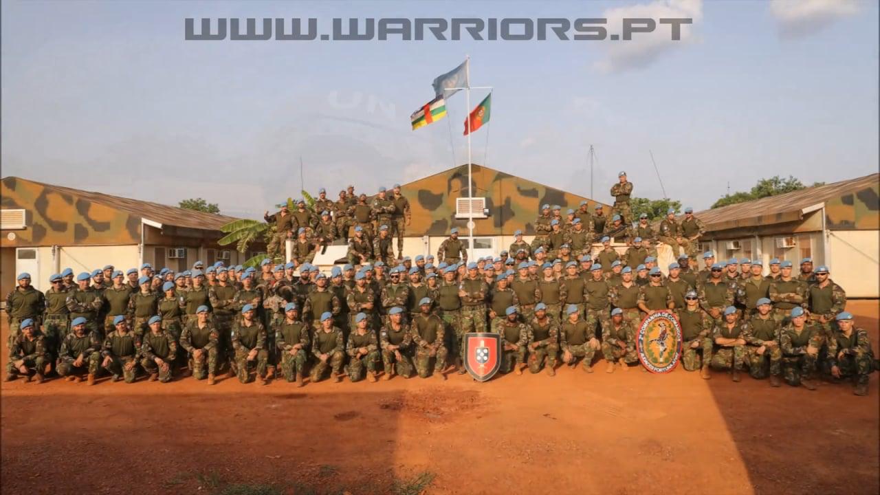 Portuguese Comandos in Central African Republic