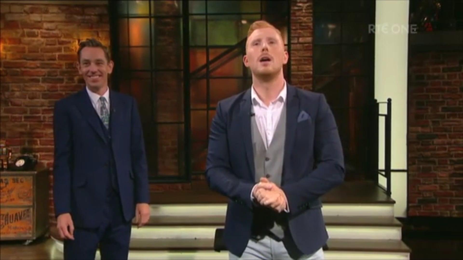 Rua on The Late Late Show