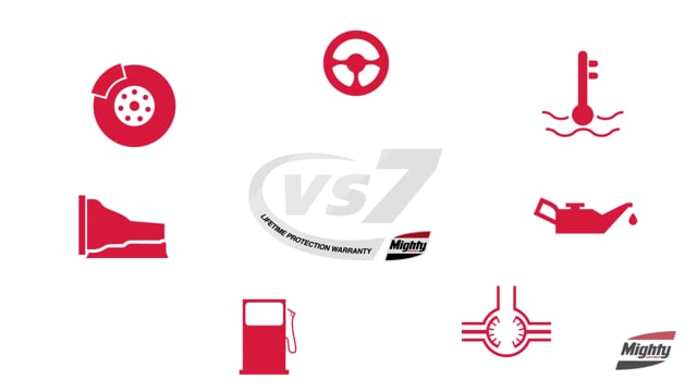 What is the Mighty VS7 Lifetime Protection Warranty?