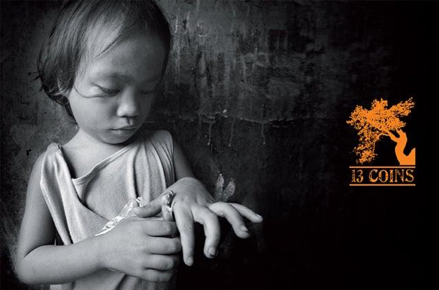 """2010 – Post Produzione per libro fotografico """"13 coins"""""""