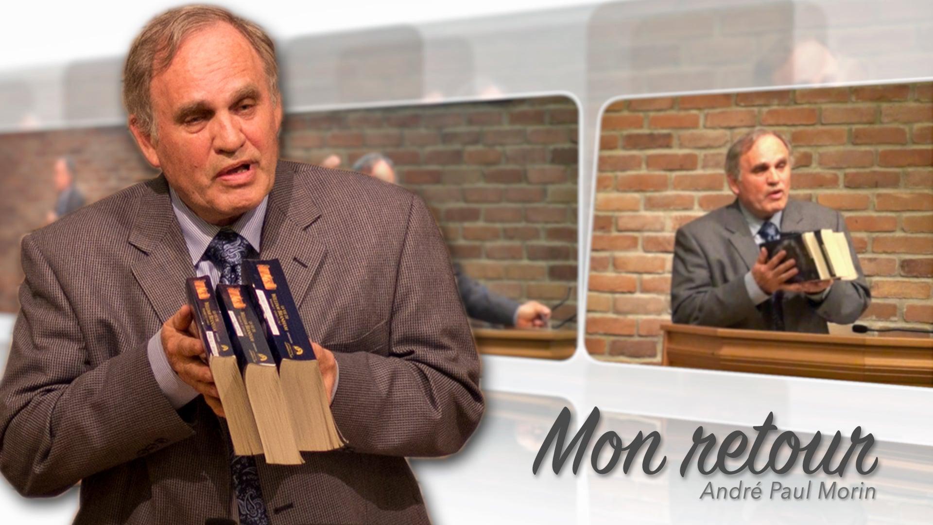 2016-03-24 - Témoignage de frère André Morin