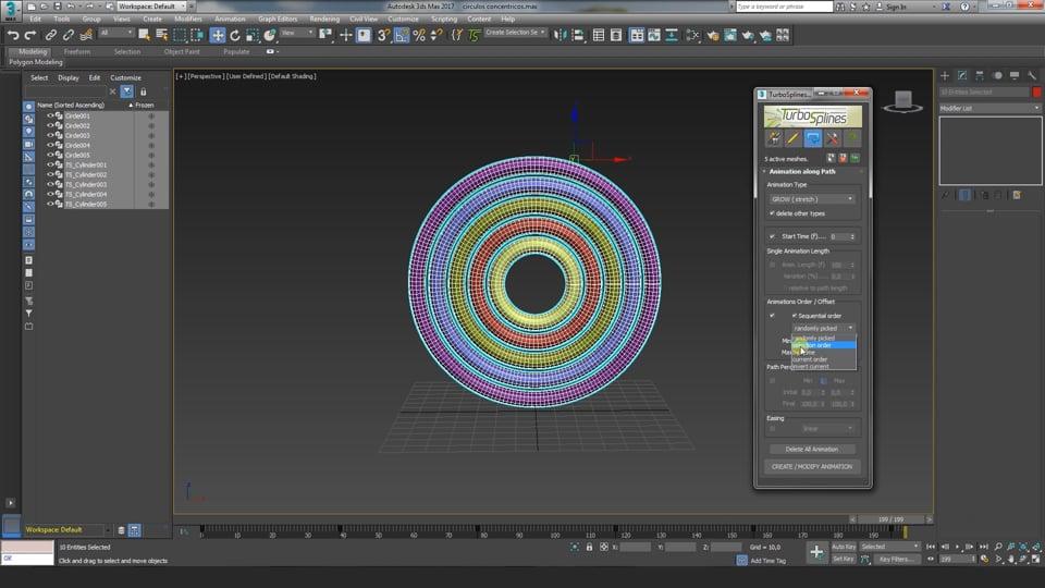 TurboSplines 3dsMax plugin: Controlling Animation along paths