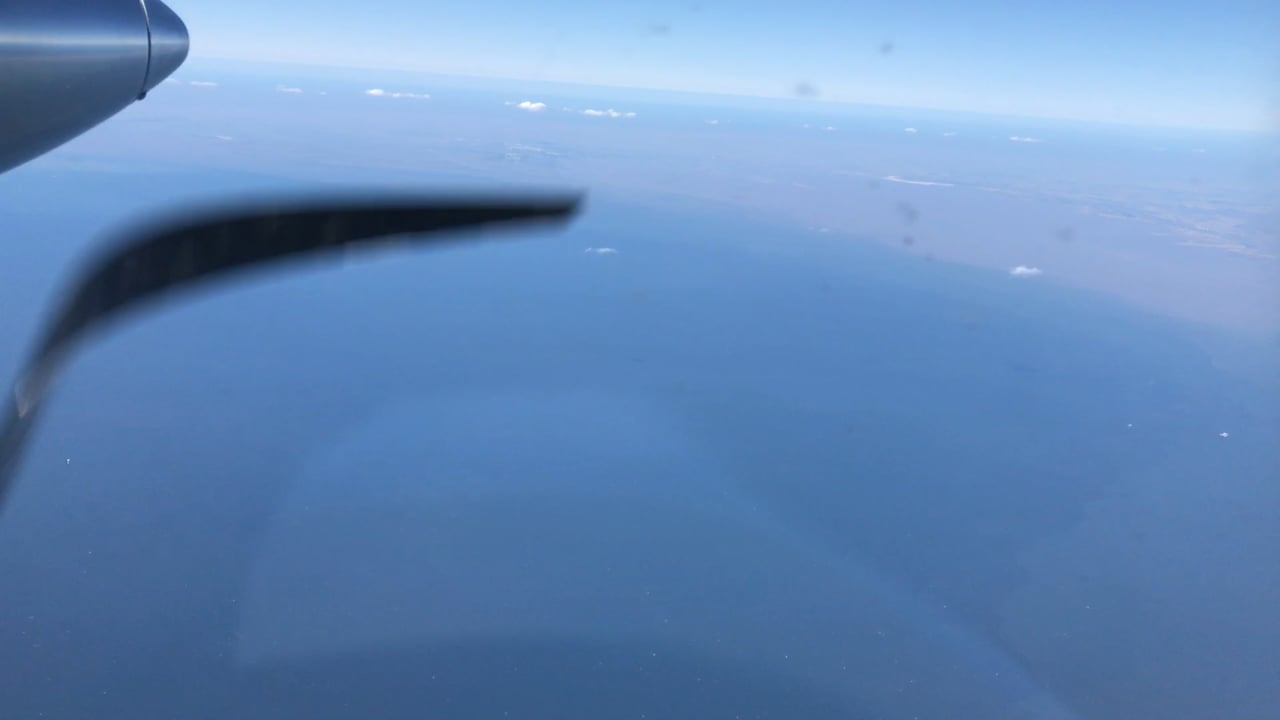Video of front from plane