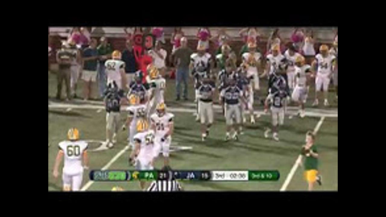 Varsity Football-2015-Game10-Pillow