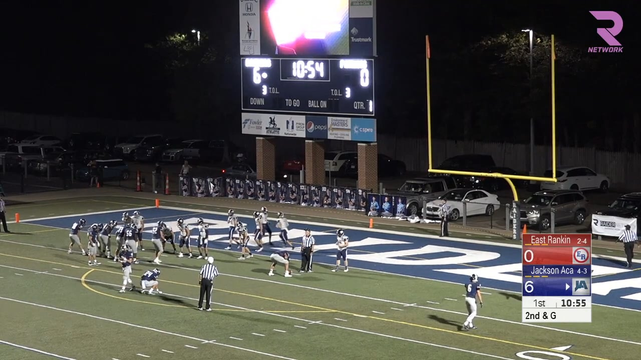 Varsity Football-2016-Game8-East Rankin